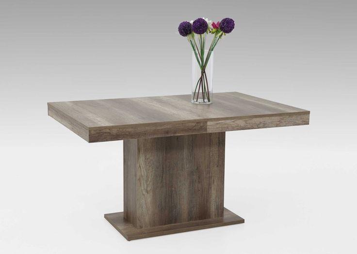 Kulissentisch Scarlet 140x90 Säulentisch ausziehbar Wildeiche 1444. Buy now at https://www.moebel-wohnbar.de/kulissentisch-scarlet-140x90-saeulentisch-ausziehbar-wildeiche-1444