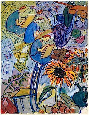 Murdered at Auschwitz, Charlotte Salomon Survives Through Her Art – The Arty Semite – Forward.com