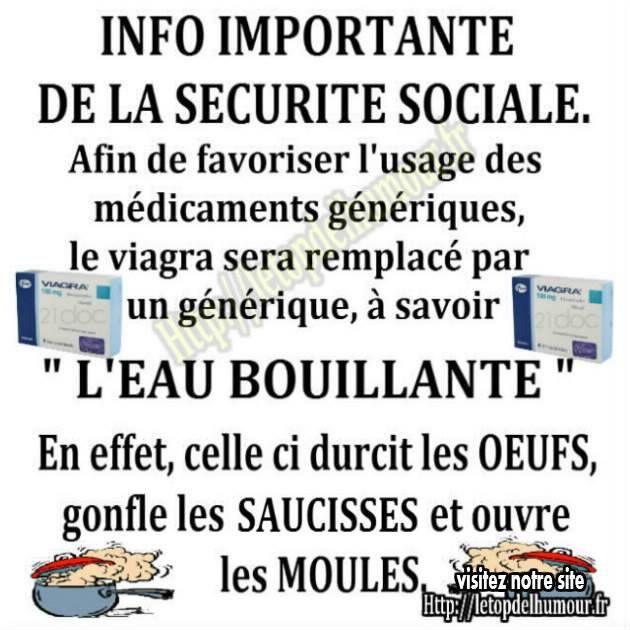 Avis important de la sécurité sociale.