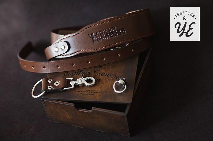 ● Кожаные разгрузочные ремни для фотографов ●