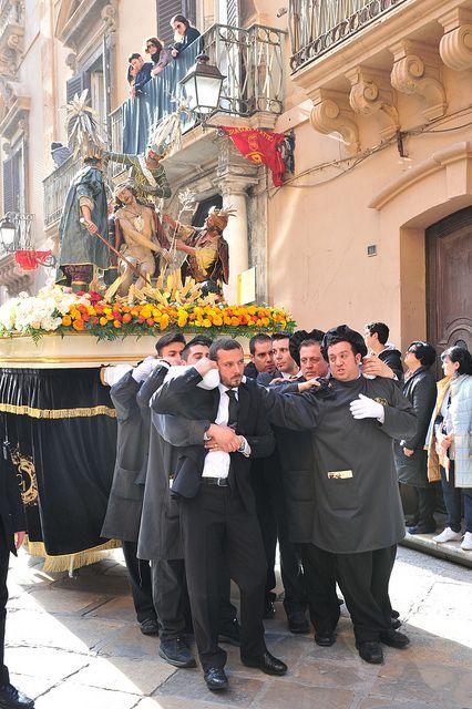 The Procession. Trapani - Sicily
