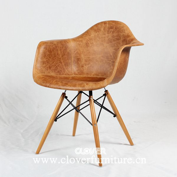 Eames antikk leather