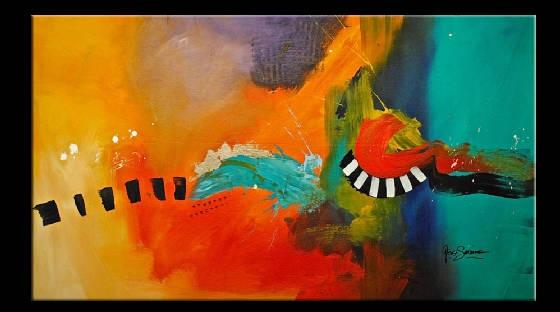 """Artist: Gino Savarino  Title: """"The Riviera"""""""