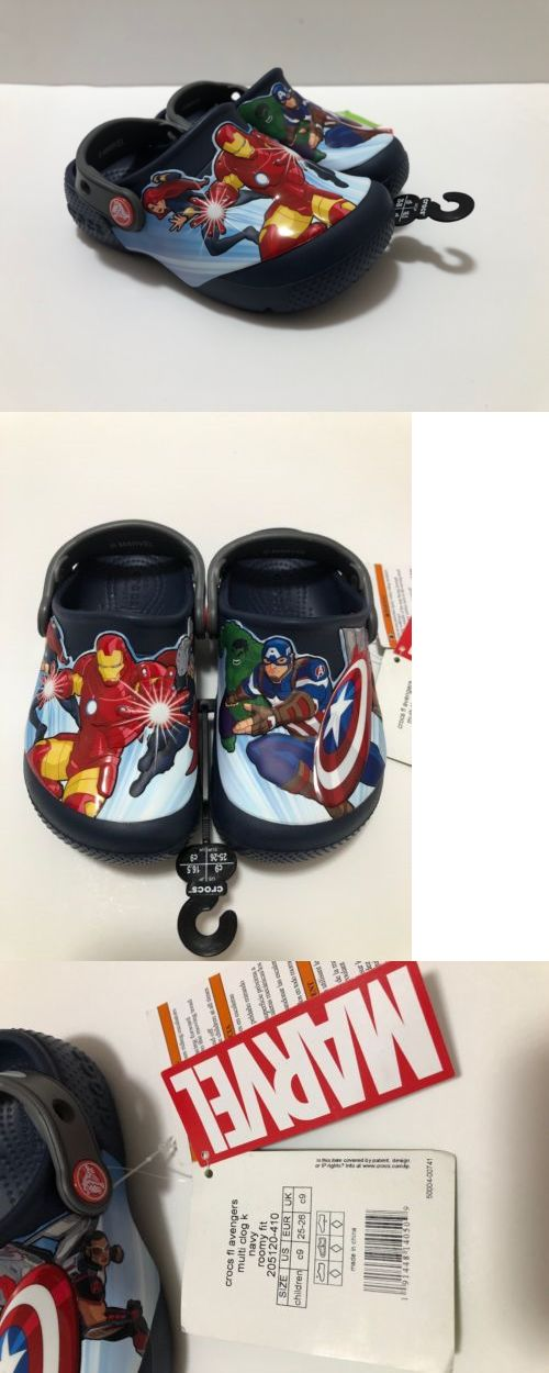 7aea2b877 Other Boys Clothes Sizes 4 1067  Crocs Marvel Avengers Childrens Us C9 Multi  Clog Navy -  BUY IT NOW ONLY   24.99 on  eBay  other  clothes  sizes  crocs  ...