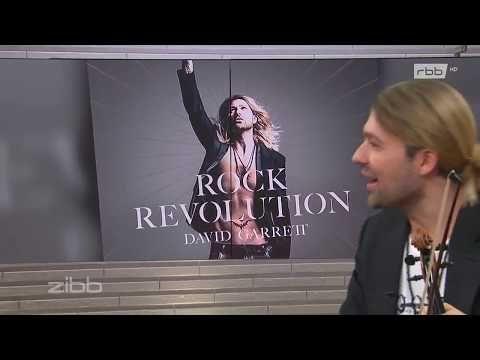 "David Garrett's interview at the Rbb Tv Show ""Zibb"" (9-10-2017) - YouTube"