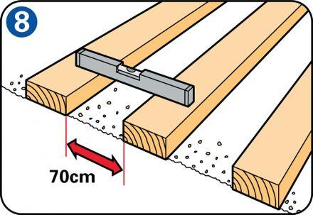 Een mooi vlonderterras zelf leggen? Handleiding hoe je zelf een vlonderterras kunt leggen met vlondertegels. Eenvoudige uitleg en duidelijke tekeningen.