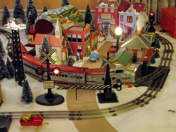 Toy Trains And Christmas : Best images about marx trains on pinterest radios