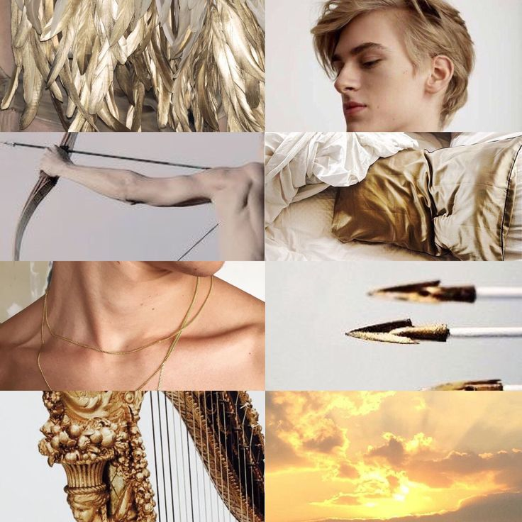 Apollo. God of Music, Art, Archery, Medicine, Sun and Light. Son of Zeus and Leto. Twin brother of Artemis