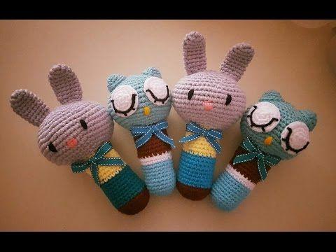 Sonajero de Crochet - YouTube