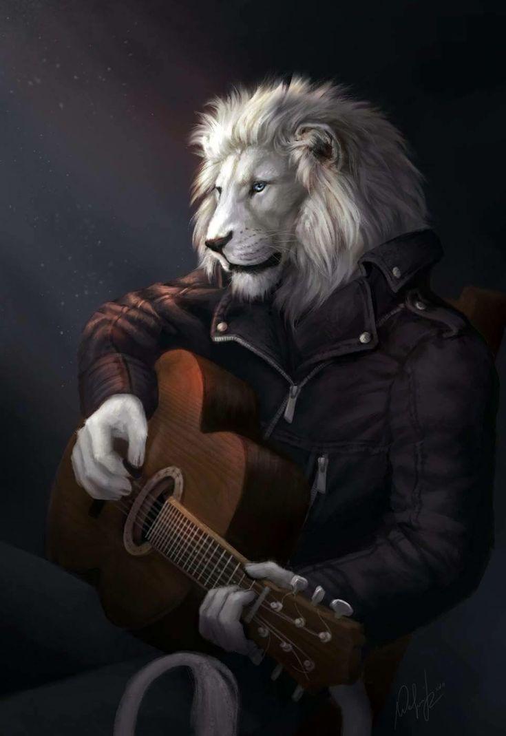 Картинки мужчин с головой льва