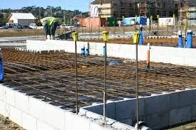Image result for steel reinforcing concrete house pad nz