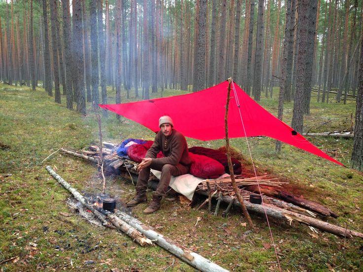 Russie, première marche du printemps et fabrication d'un
