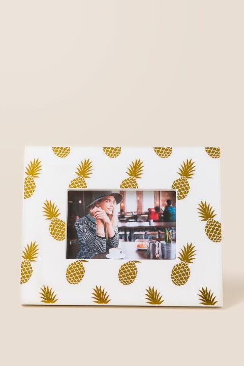 Pineapple Picture Frame - $16.00 (Francesca's)