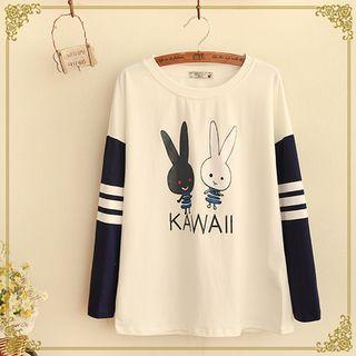 Fairyland - Long-Sleeve Rabbit T-Shirt