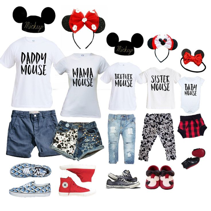 Family Mouse shirts. Adorable!! Might get these for an upcoming trip.