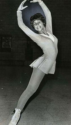 Petra Burka, médaillée de bronze aux Jeux d'hiver d'Innsbruck en 1964 - Patinage artistique - Exploraré