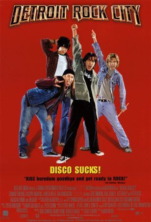 Detroit Rock City 1999 Movie Poster 27x40 Used Shannon Tweed, Cher, Richard Nixon, Sonny Bono, Edward Furlong, Jimmy Carter, Andy Warhol