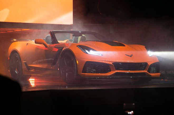 2019 Chevrolet Corvette Zr1 Convertible First Look Statement
