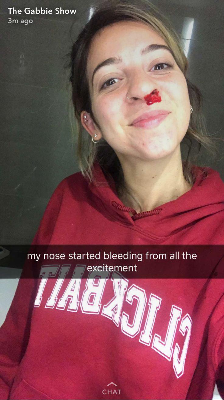Kristen mcatee nose piercing   best The Gabbie Show images on Pinterest