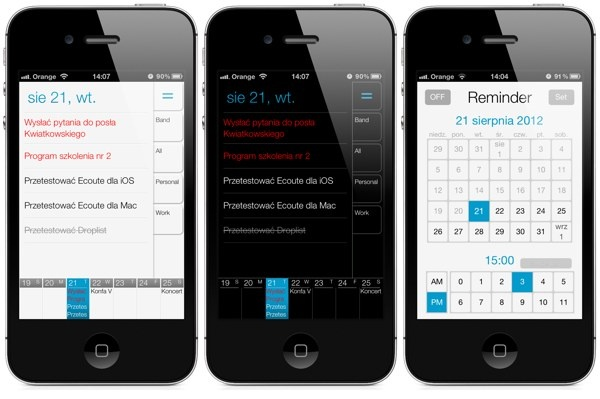 Nice To Do  app for iPhone.