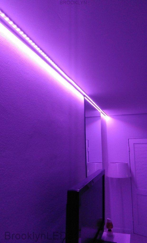 Lights In Wall Decor Room Decor Ideas Diy For Teens Bedrooms Bedroom Ideas For Small Rooms For Adu In 2020 Led Strip Lights Bedroom Led Lighting Bedroom Room Lights