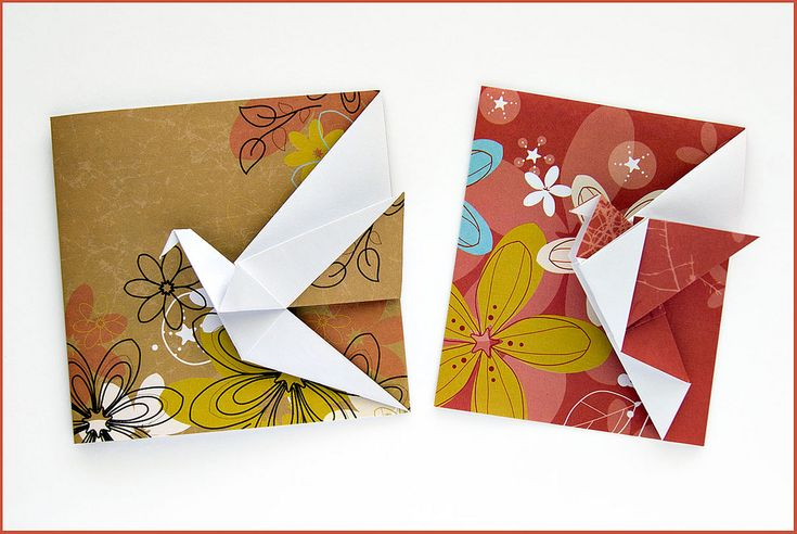 Origami greeting cards | Flickr - Photo Sharing!