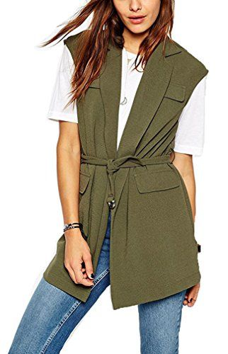 Oure Women Sleeveless Trenchcoats Coat Jacket Outwear Xs Oure http://www.amazon.com/dp/B013P02BKS/ref=cm_sw_r_pi_dp_vJt3vb0AJQPVF