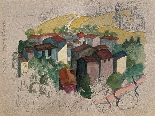Viconago, 1926         © Fondazione Hermann Hesse Montagnola