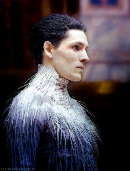 Ariel - The Tempest 2013 - Colin Morgan <--- NO FREAKING WAY! !!! I never even imagined Ariel as a man,  that's so crazy but Colin Morgan is perfect for that role