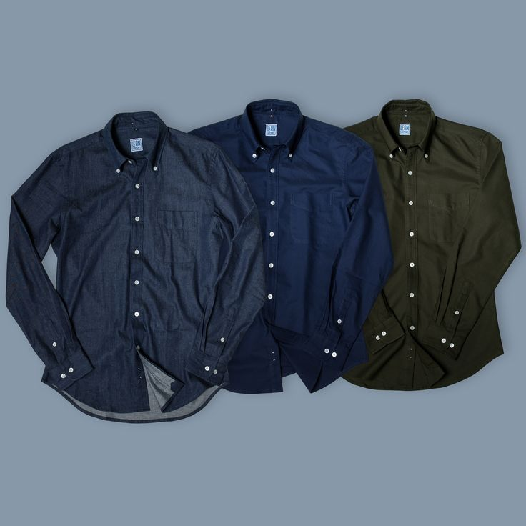 3x fall button-down pack from Lean Garments http://leangarments.com