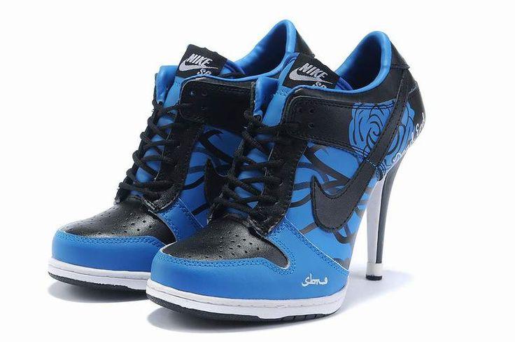 michael jordan heels, black jordan heels, jordan shoes with heels... LOVE THESE!!!!  DEFF have 2 get some!! <3