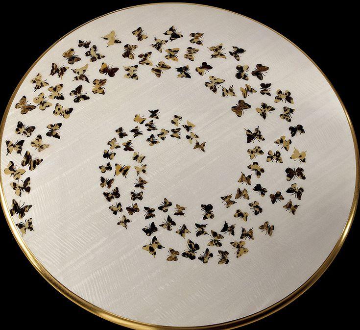 B121 Tavolo Collezione Butterfly by Rozzoni Mobili d'Arte design Statilio Ubiali