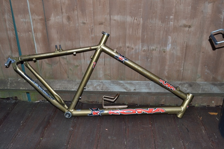 #Kona Nunu retro mountain bike frame Like, Repin, Share, Follow Me! Thanks!