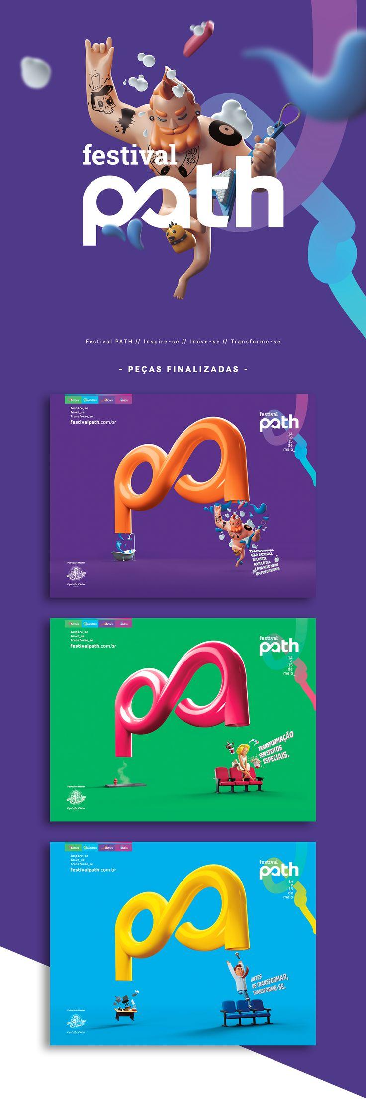 Criação de Stills para Festival PATH em parceria com a Agência WE.