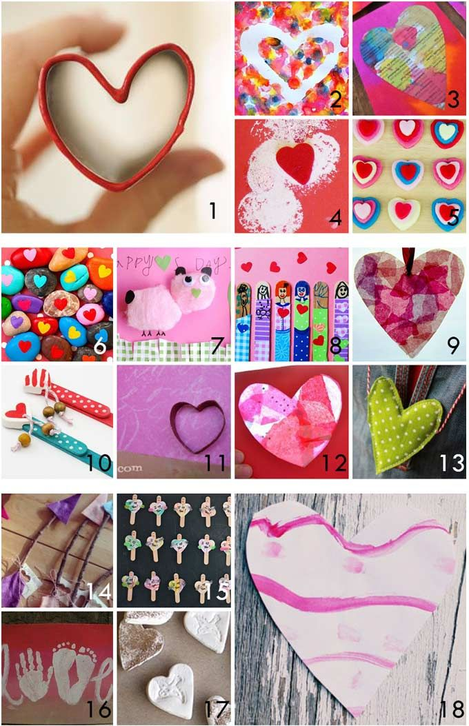20 valentine gifts kids can make themselves
