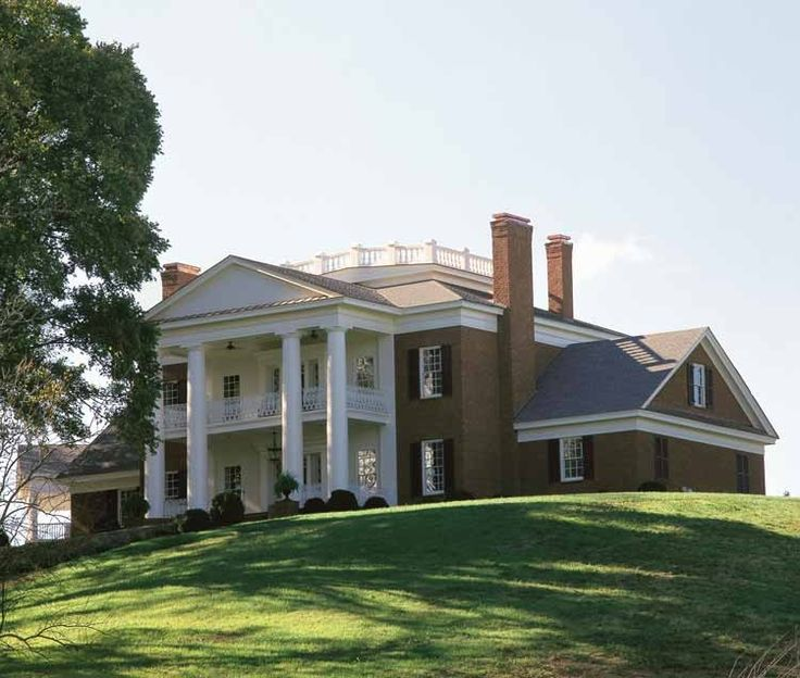 12 Best Images About Greek Revival Homes On Pinterest