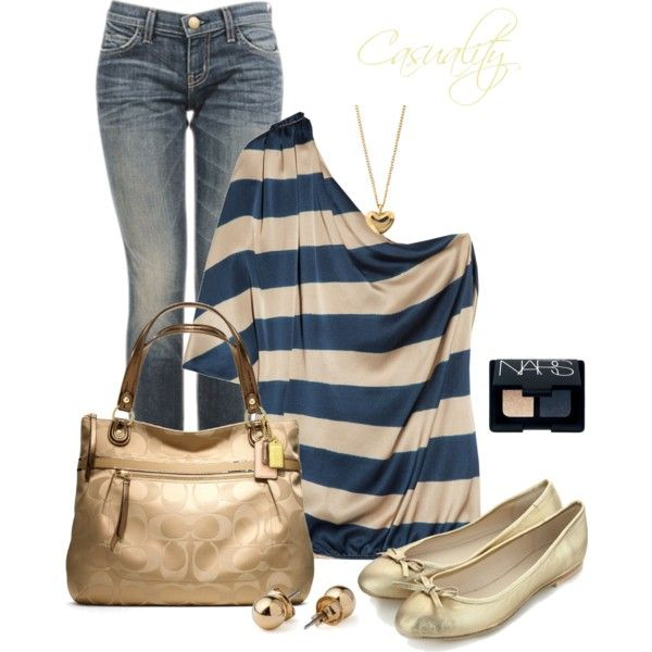 Everyday Outfit: Daily Outfit, Fashion, Outfit Ideas, Style, Clothes, Striped Tops, Cute Outfit, Casual Outfits, Everyday Outfit