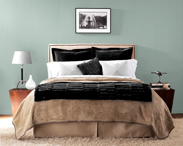 bedroom colors 2012. bedroom wall color or accent wall: sherwin williams underseas colors 2012 e