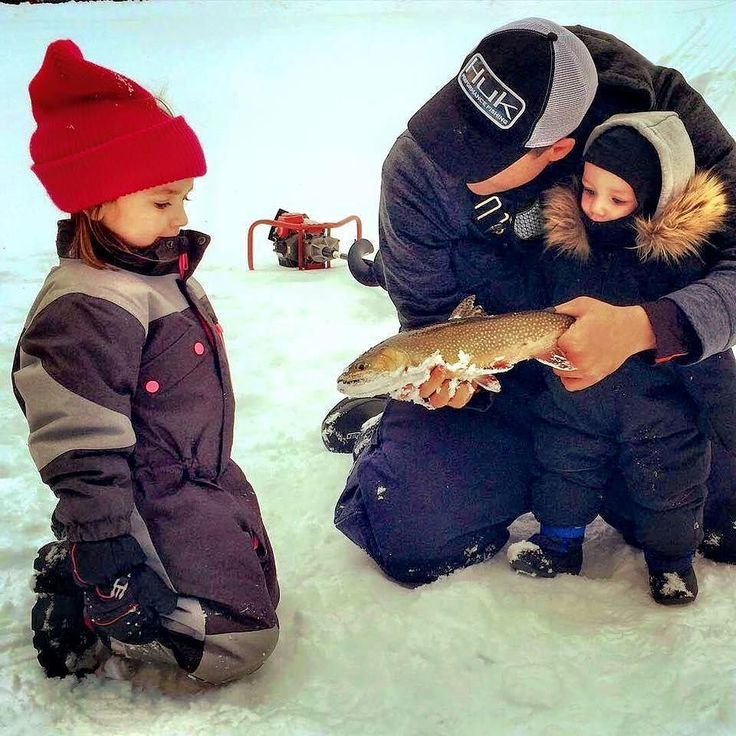 Kids don't remember their best days of TV but they'll tell everyone about their best day of fishing! #FishKN from fishing guide @mcnaughtm55 sharing the love of ice fishing with two young kids - - - #fish #fishing #icefishing #icefish #kidsfishing #kids #canadafishing #ontariofishing #angler #ontarioanglers #younganglers #canada #ontario #canadianwinter #explorecanada #keepcanadafishing #catchfishing #fishingcanada #fishon #fishcanada #outdoors #canadaoutdoors #familyfishing