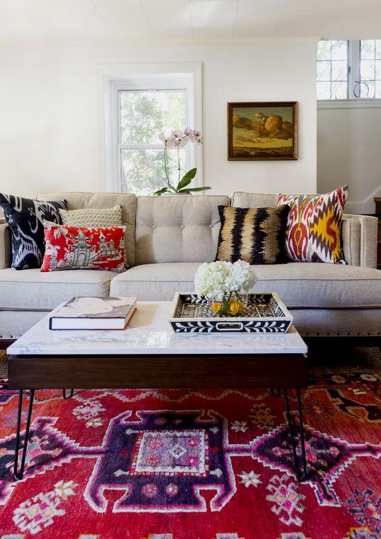 Gentleman's Bachelor Pad by Design Manifest- Sofa