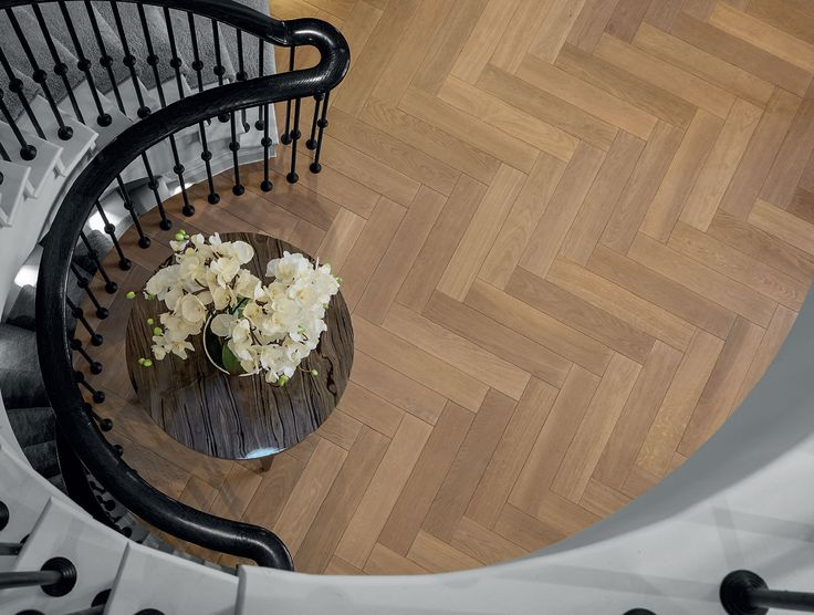 Do something dramatic with herringbone. Add a flair of creativity to your design that drips with style and sophistication. Discover the Design from Havwoods range of herringbone and chevron timber flooring.