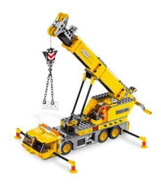 Lego 7633 construction site set truck kids boys building toy