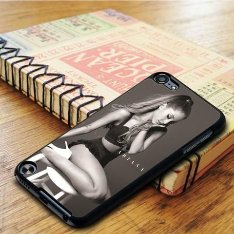 Ariana Grande Problem Black And White iPod 6 Touch Case