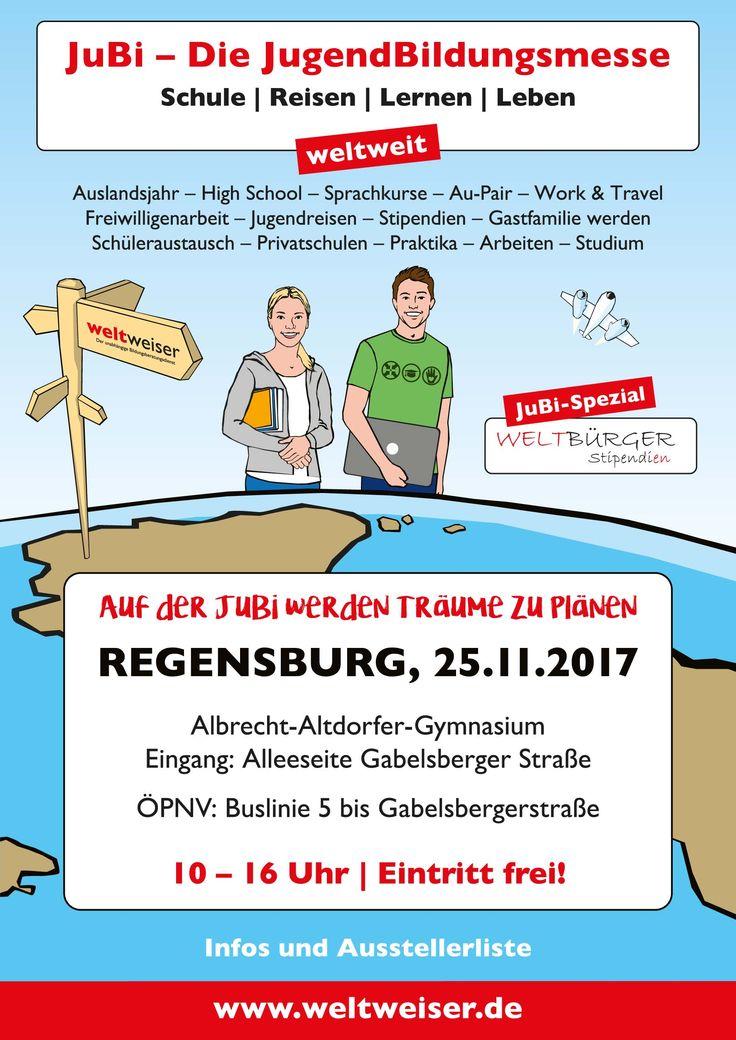 JuBi Regensburg am 25.11.2017 #sprachreise #weltreise #auslandsjahr #studium #usa #reisen #weltreise #ausland #freiwilliendienst