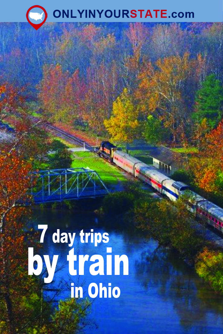 Travel | Ohio | Attractions | Sites | Unique | Hidden Gems | Activities | Things To Do | Train | Train Trips | Day Trips