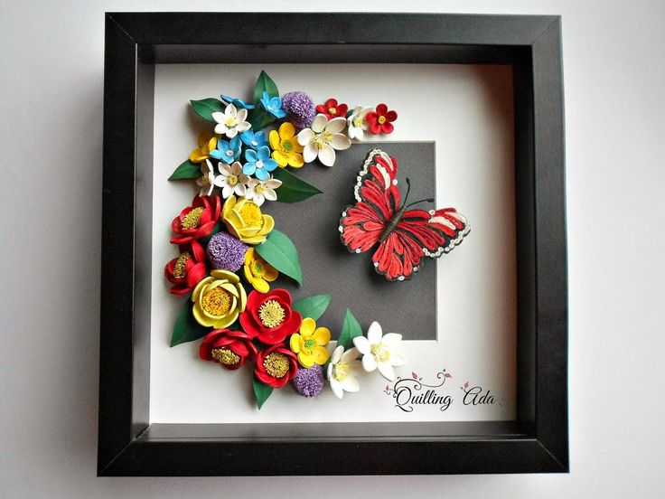 Quilling-Forest flowers