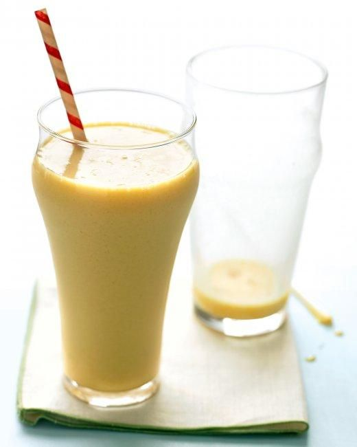 Orange-Vanilla Milkshakes Recipe