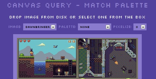 Canvas Query - A wrapper library for the #HTML5 Canvas element
