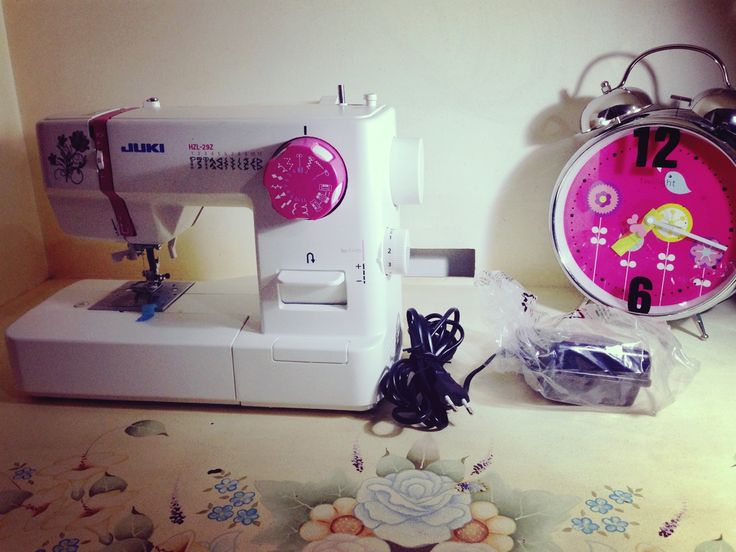 my first ever sewing machine! Juki hzl-29z
