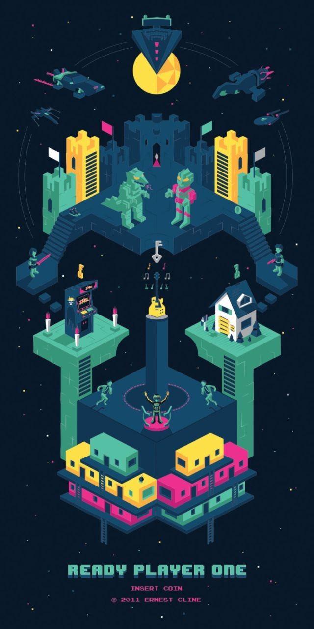 Ready Player One: Un artista crea este fenomenal póster – Alfa Beta Juega